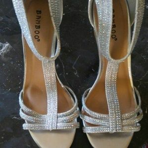 Bamboo silver shoes